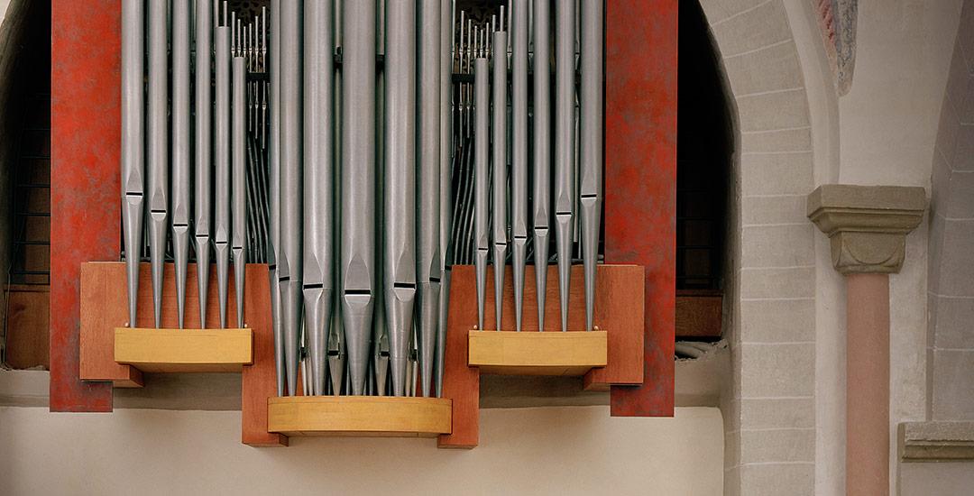 Prospektgestaltung der Orgel in Bochum-Stiepel