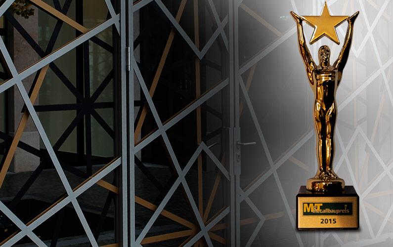 Auszeichnung mit dem Deutschen Metallbaupreis 2015