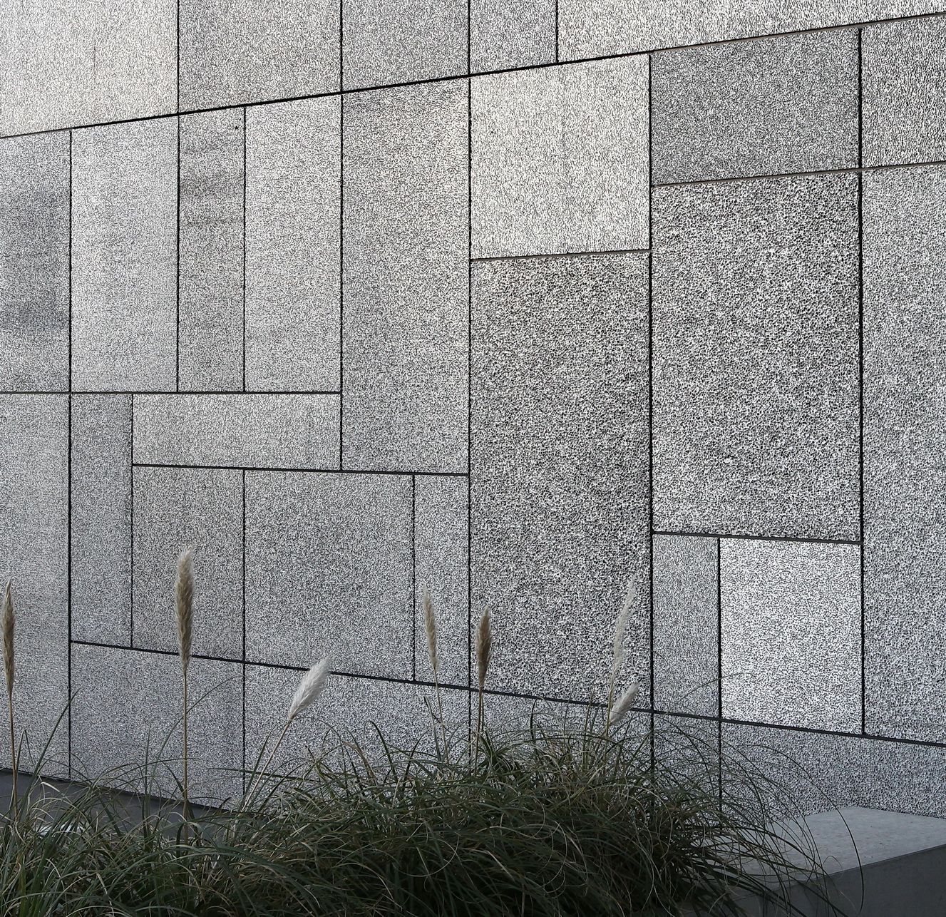 Aluminiumschaumfassade