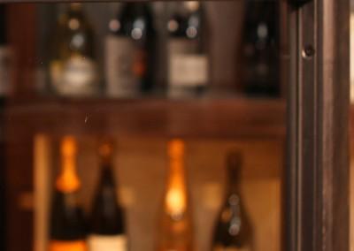Stahl – Glas Elemente Weinkeller; Privatloft in Wuppertal